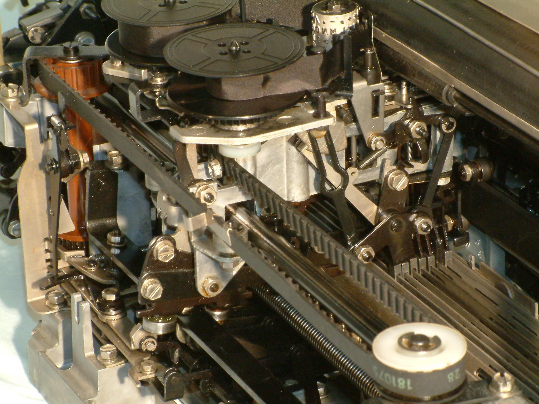 teletypewriter paper
