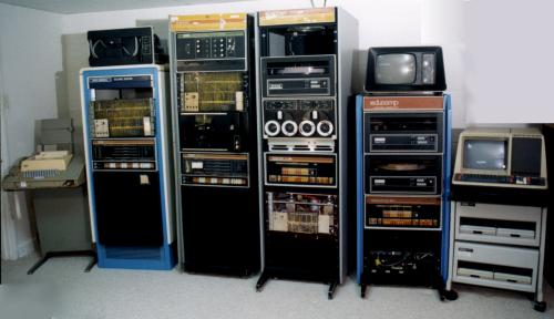 Picture of PDP-8's