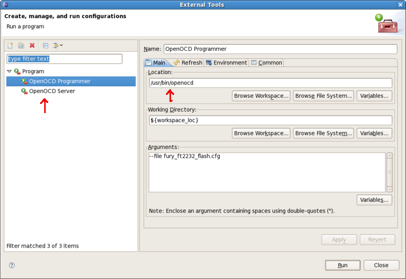 FreeRTOS Stellaris Setup under Linux